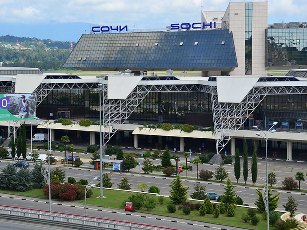 Sochi airport, pic. 1