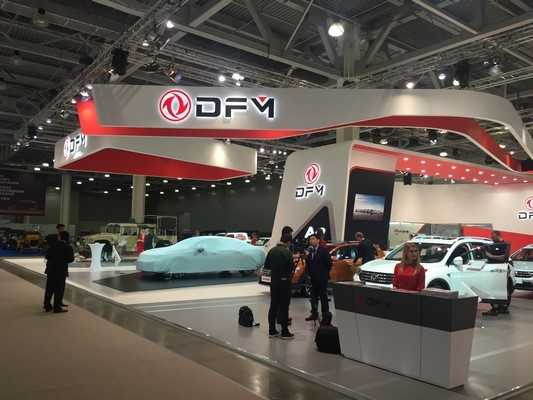 RMAA Group Acted As Co-organizer of The Exhibition for Chinese Auto Brand DongFeng at Moscow International Automobile Salon 2016, pic. 1